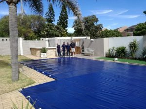 PVC pool cover