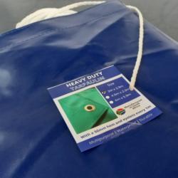 Blue PVC Tarpaulin
