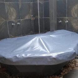 Grey KolKol Hot Tub Cover